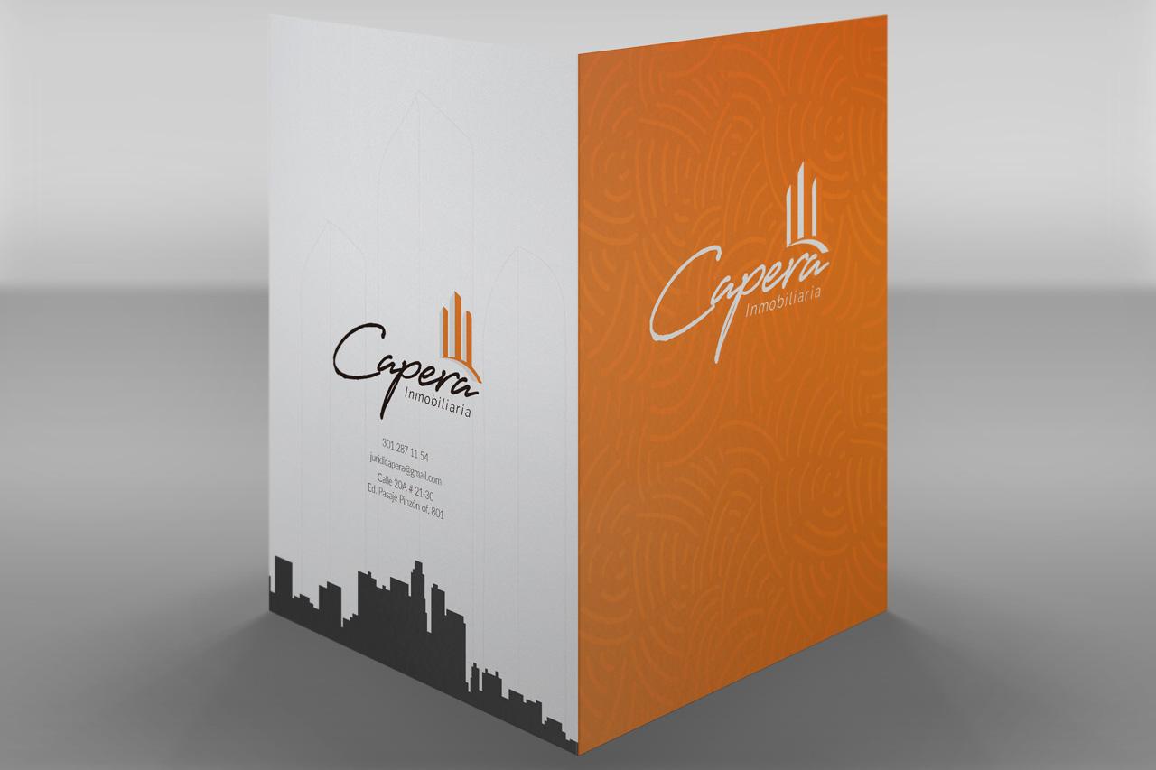 Carpetas Corporativas Institucionales Fusión Comunicación Gráfica